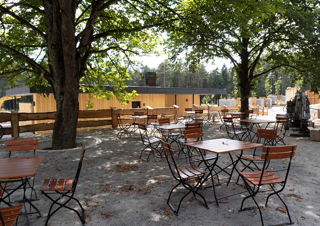 Sonnenplateau Camping Gerhardhof GmbH - Gasthaus und Laden - Stuben und Terasse - Startbild