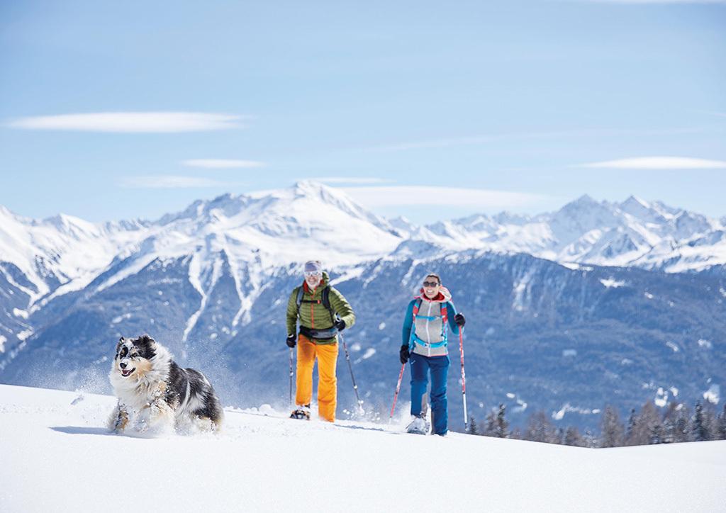 Sonnenplateau Camping Gerhardhof GmbH - Sport und Freizeit - Winteraktivitäten - Schneeschuhwandern - Startbild