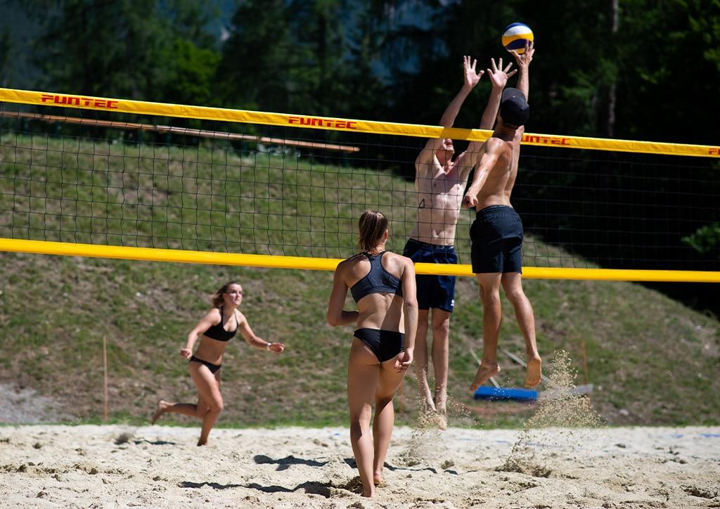Sonnenplateau Camping Gerhardhof GmbH - Sport und Freizeit - Am Hof - Beachvolleyball - Startbild